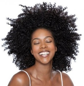 Short Natural Afro Hairstyle For Black Women