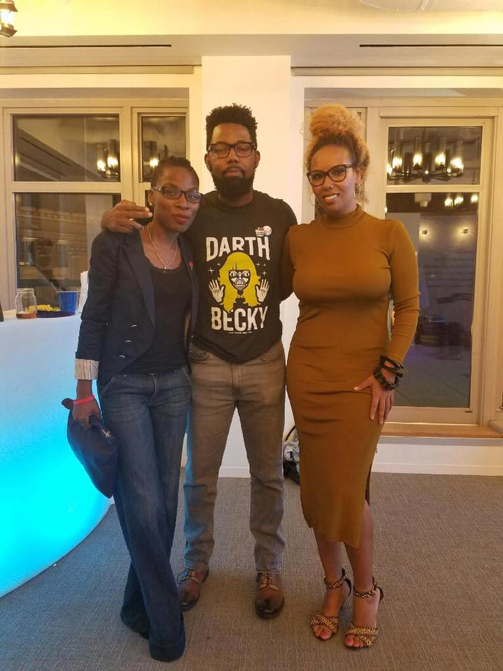 The holy trinity of Shea Butter Twitter:Luvvie Ajayi, Damon Young and Jamilah Lemieux