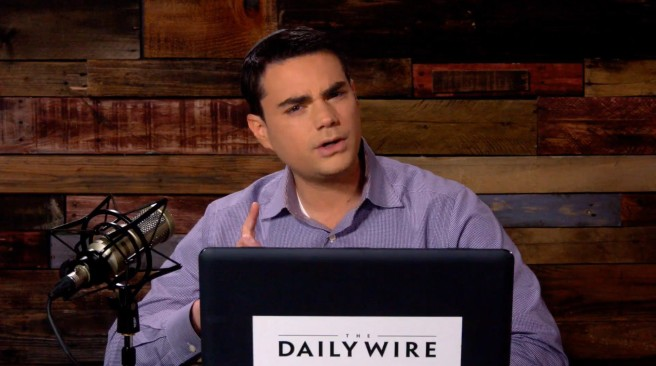 ben shapiro's daily wire finally admits to being a fake news satire