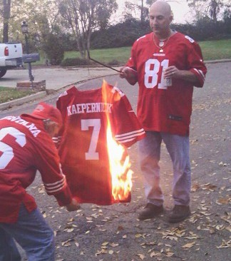 newest 37e6f 55b4c Are The Burnings of Black Athletes' Jerseys The New Lynchmobs?